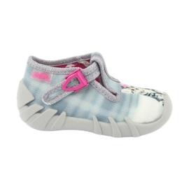 Dječje cipele Befado kitty 110P365 siva
