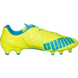 Nogometne cipele Puma Evo Speed 1.4 Lth Fg M 103615 03 žuti žuti