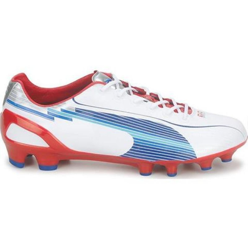 Puma Evo Speed 1 Fg M 102527 01 nogometne cipele bijela bijela