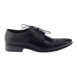 Crna Kožne cipele Muške cipele Pilpol 1262