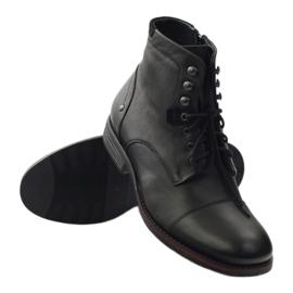 Zimske čizme s Pilpol 6009 zip crne crna 3