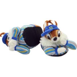 American Club Tople papuče životinje američke vjeverice plava smeđa 4
