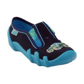Papuče za dječje cipele Befado 290x161 mornarsko plava plava zelena 1