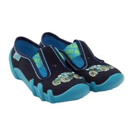 Papuče za dječje cipele Befado 290x161 mornarsko plava plava zelena 4
