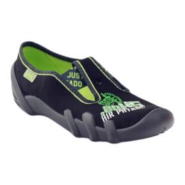 Dječje cipele Befado 290y162 zelena crno 1