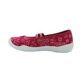 Befado dječje obuće balerinke papuče 116x236 ružičasta bijela 2