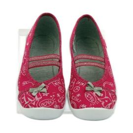 Befado dječje obuće balerinke papuče 116x236 ružičasta bijela 4