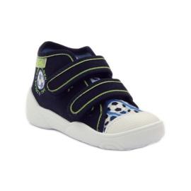 Befado dječje cipele tenisice papuče 212P052 mornarsko plava plava bijela 1