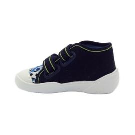 Befado dječje cipele tenisice papuče 212P052 mornarsko plava plava bijela 2