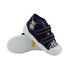 Befado dječje cipele tenisice papuče 212P052 mornarsko plava plava bijela 3
