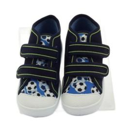 Befado dječje cipele tenisice papuče 212P052 mornarsko plava plava bijela 4