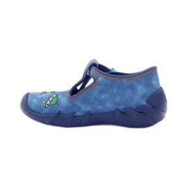 Papuče za dječje cipele Befado 110p315 zelena naranča plava 2