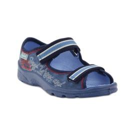 Plave sandale Befado 969x129 mornarsko plava crvena plava 1