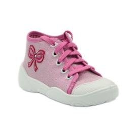 Befado dječje cipele tenisice papuče 218p047 ružičasta 1