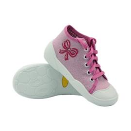 Befado dječje cipele tenisice papuče 218p047 ružičasta 3