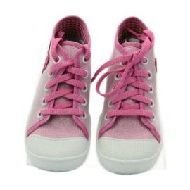 Befado dječje cipele tenisice papuče 218p047 ružičasta 4