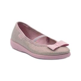 Papuče ružičasti luk Befado 346x033 ružičasta 1