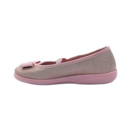 Papuče ružičasti luk Befado 346x033 ružičasta 2