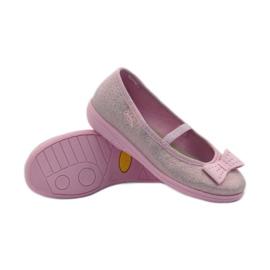 Papuče ružičasti luk Befado 346x033 ružičasta 3