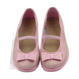 Papuče ružičasti luk Befado 346x033 ružičasta 4