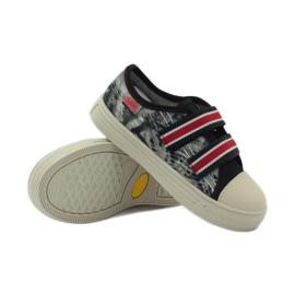 Papuče Tenisice Graffiti Velcro Befado 430x crvena siva crno bijela 3