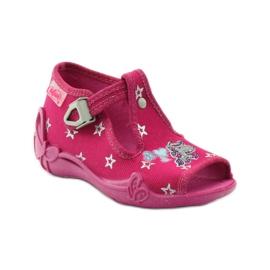 Befado dječje papuče 213p102 ružičasta siva 1