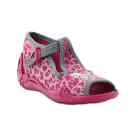 Panther papuče Befado 213P100 kitty rose ružičasta 1