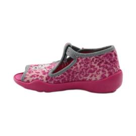 Panther papuče Befado 213P100 kitty rose ružičasta 2