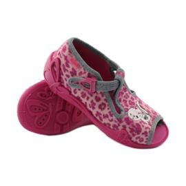 Panther papuče Befado 213P100 kitty rose ružičasta 3