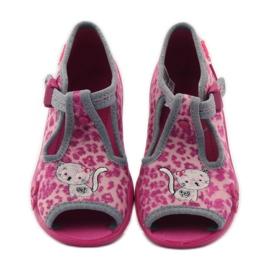 Panther papuče Befado 213P100 kitty rose ružičasta 4