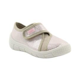 Papuče Lagani SOFT-B umetak Befado ružičasta siva smeđa 1