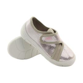 Papuče Lagani SOFT-B umetak Befado ružičasta siva smeđa 3