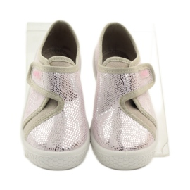 Papuče Lagani SOFT-B umetak Befado ružičasta siva smeđa 4