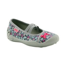 Dječje papuče Befado 116x227 ružičasta siva 1