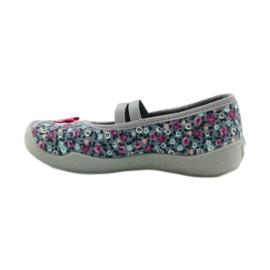 Dječje papuče Befado 116x227 ružičasta siva 2
