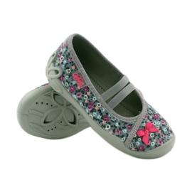 Dječje papuče Befado 116x227 ružičasta siva 3