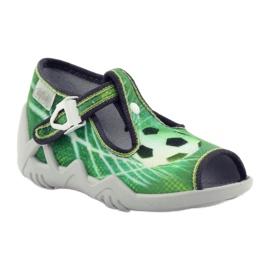 Befado dječje cipele papuče 217p093 zelena 1