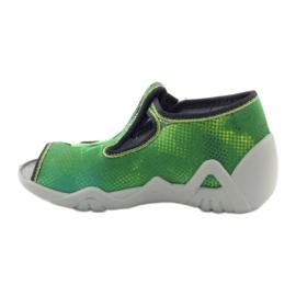 Befado dječje cipele papuče 217p093 zelena 2
