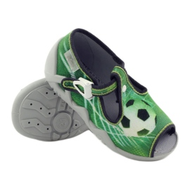 Befado dječje cipele papuče 217p093 zelena 3