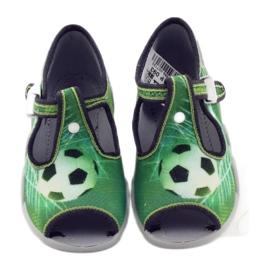 Befado dječje cipele papuče 217p093 zelena 4
