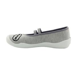 Befado dječje cipele papuče balerinke 116y235 siva 2