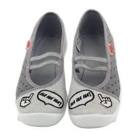 Befado dječje cipele papuče balerinke 116y235 siva 4