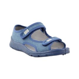 Papuče sandale Befado 113y010 plave boje plava 1