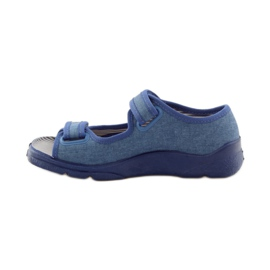 Papuče sandale Befado 113y010 plave boje plava 2