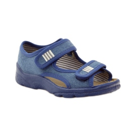 Dječačke sandale Befado 113x010 mornarsko plava plava 1