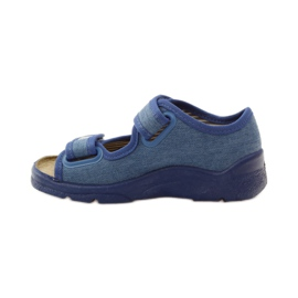 Dječačke sandale Befado 113x010 mornarsko plava plava 2