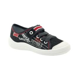Befado dječje cipele tenisice papuče 251x091 crvena siva bijela 1