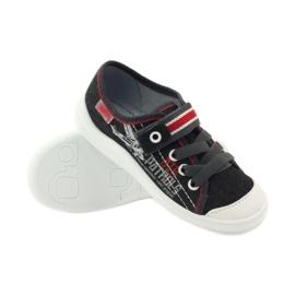 Befado dječje cipele tenisice papuče 251x091 crvena siva bijela 3