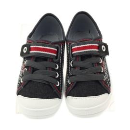 Befado dječje cipele tenisice papuče 251x091 crvena siva bijela 4