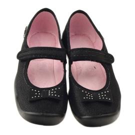 Befado dječje cipele papuče balerinke 114y240 crno siva 4